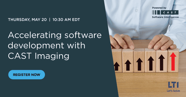 Raising software developers' productivity with CAST Imaging