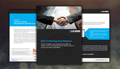M&A Technology Due Diligence: The 5 insights you should consider to reduce your investment risk