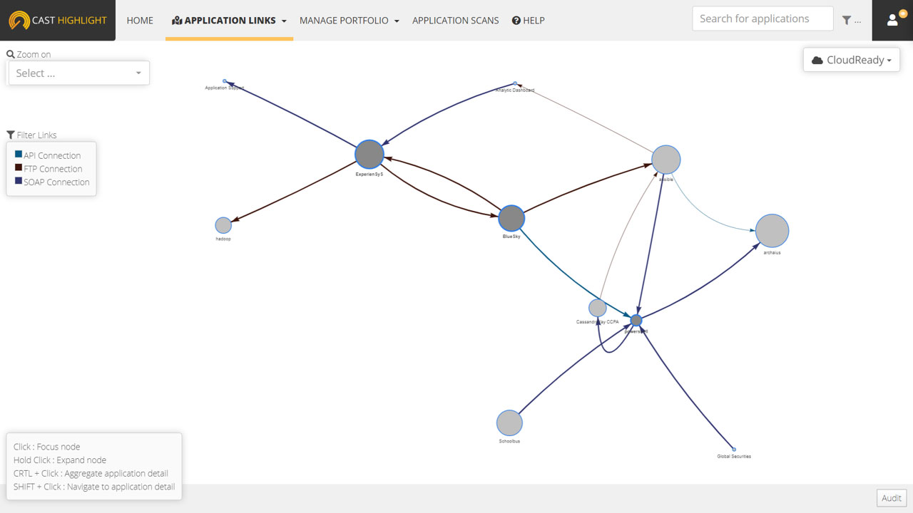 Visualize App to App Dependencies. In Real Time.