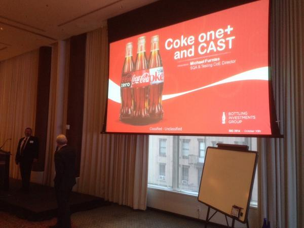 CAST-Launch-Party-Coca-Cola-software-quality