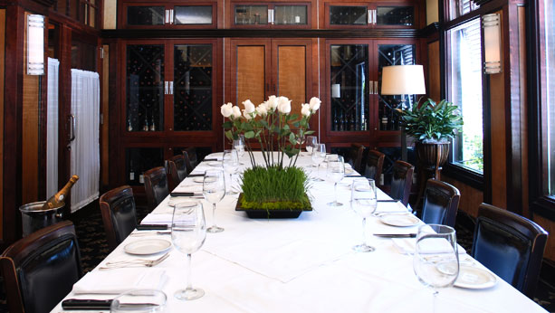 Private Dining Room at McKendrick's