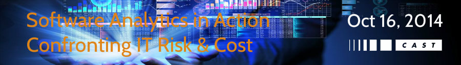 software analytics, cast event, IT risk, IT cost