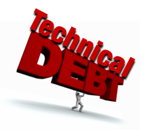 Technical debt is expected to exceed 1.5 million per business application.