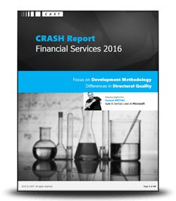 The CRASH Report 2016 on Financial Services – Focus on Development Methodology